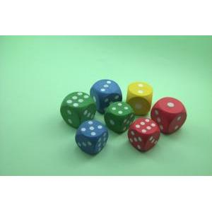 RUBBER SPONGE DICE