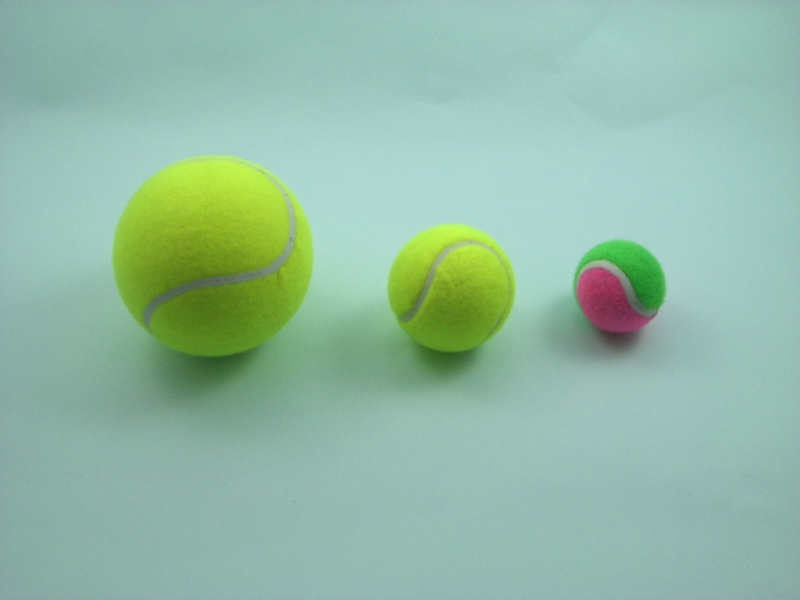 RUBBER SPONGE PET BALLS