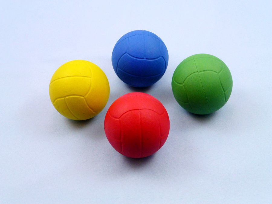 RUBBER SPONGE VOLLEYBALL
