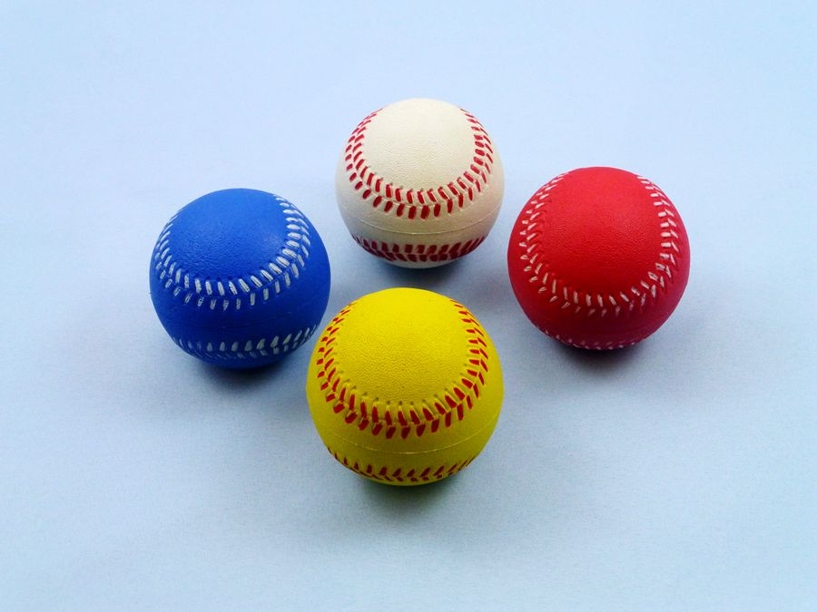 RUBBER SPONGE BASEBALL