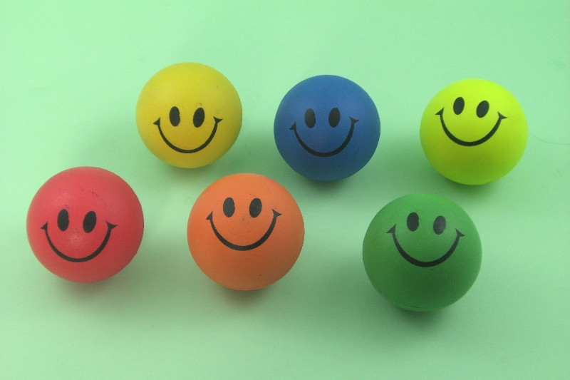 RUBBER SPONGE SMILE-BALL