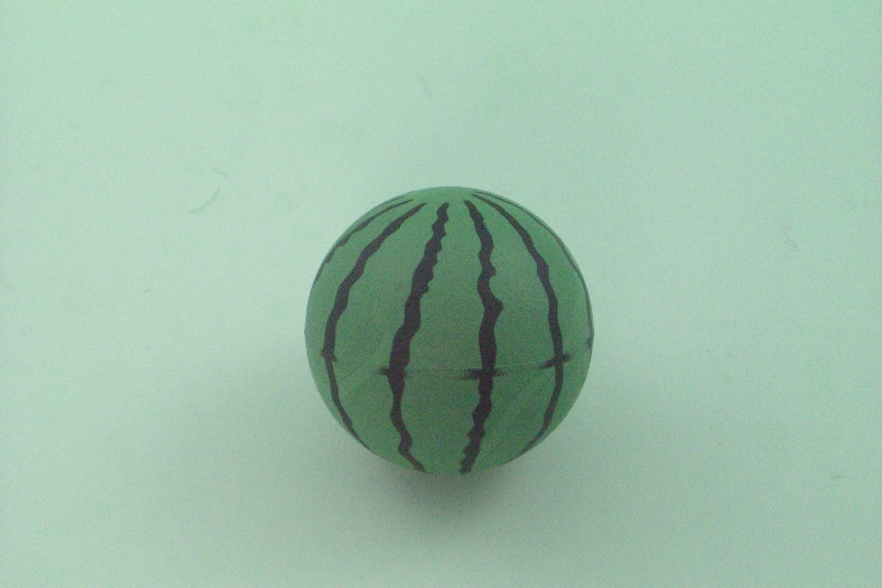 RUBBER SPONGE WATERMETON BALL