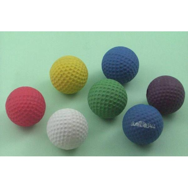 RUBBER SPONGE GOLF BALL