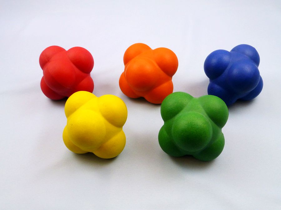 RUBBER SPONGE REACTION BALL-1